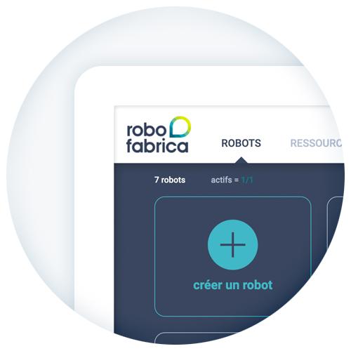 Robo Fabrica, créer